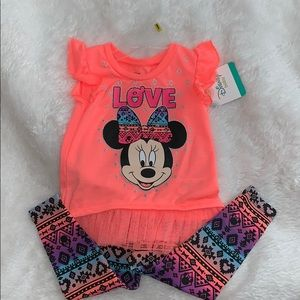 Baby girl Disney outfit